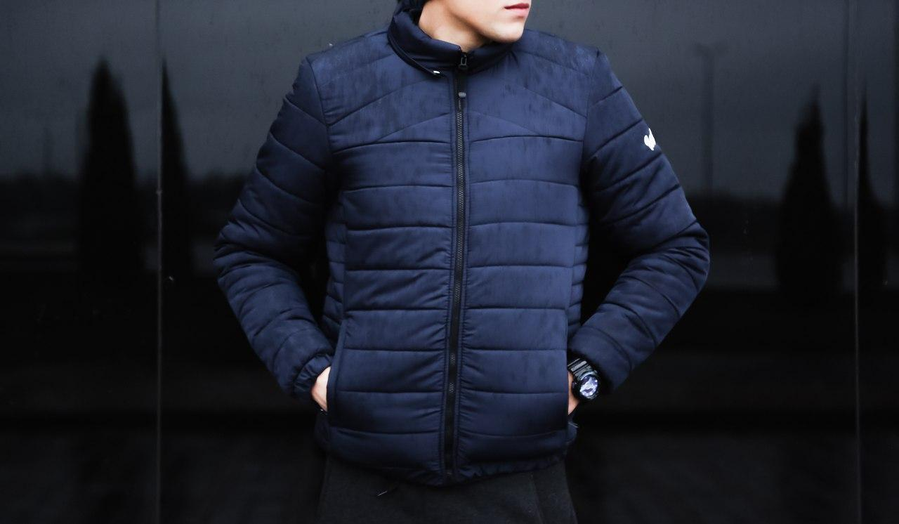 """Зимняя мужская куртка Pobedov Winter Jacket """"Rise"""" Navy"""