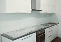 Фартук кухонный из стекла покраска по RAL, стеновая панель на кухню, ФК3