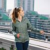"""Демисезонная Слингокуртка """"Оливковая"""" 3 в 1 Куртка + для беременных + слингокомплект L & C XS M S L XL"""