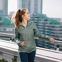 """Демисезонная Слингокуртка """"Оливковая"""" 3 в 1 Куртка + для беременных + слингокомплект L & C XS M S L XL, фото 1"""