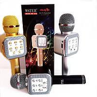 Блютуз караоке микрофон WSTER WS 1818.Беспроводной