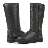 Женские угги UGG Classic Tall Leather Black