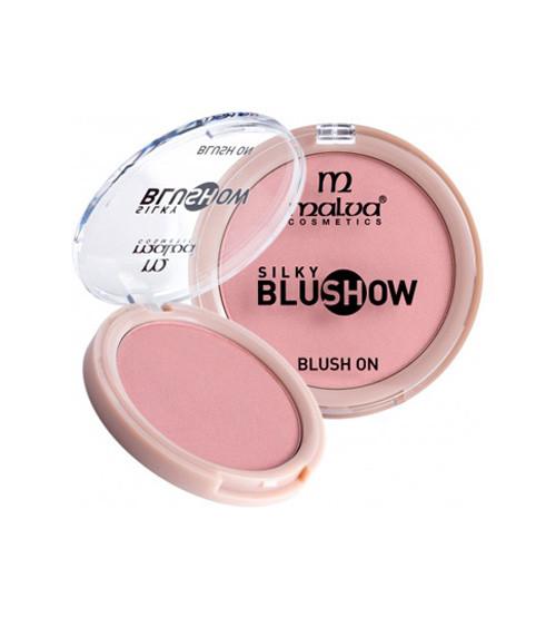 Румяна Silky BlushShow Malva Cosmetics PM3501 Тон №1(ПудРум_PM3501-1)