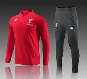 Спортивный костюм Ливерпуль (Тренировочный клубный костюм Liverpool) Финальная Распродажа