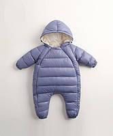 Модный комбинезон для малыша утепленный синтепоном 7443081-1 код (39719) в наличии: 100см