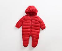 Зимний комбинезон для малыша утепленный синтепоном 7443084-1 код (39724) в наличии: 100см