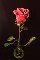 Кованая роза ручной работы