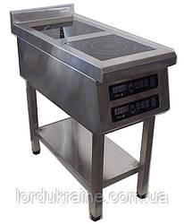 Індукційна плита 2-х конфорочна підлогова 2,8 кВт ТМ Tehma