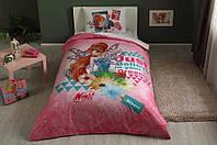 Детское/подростковое постельное белье TAC Winx Bloom Fairytale Ранфорс