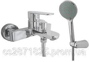 Смеситель BARTS-TB 07101-H36-Смес-ль  д/ванны-Neoperl Aerator-Mingdi cartridgeD35+Душ.комплект-(TOPA
