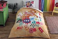 Детское/подростковое постельное белье TAC Disney Winx Stella Fairytale Ранфорс