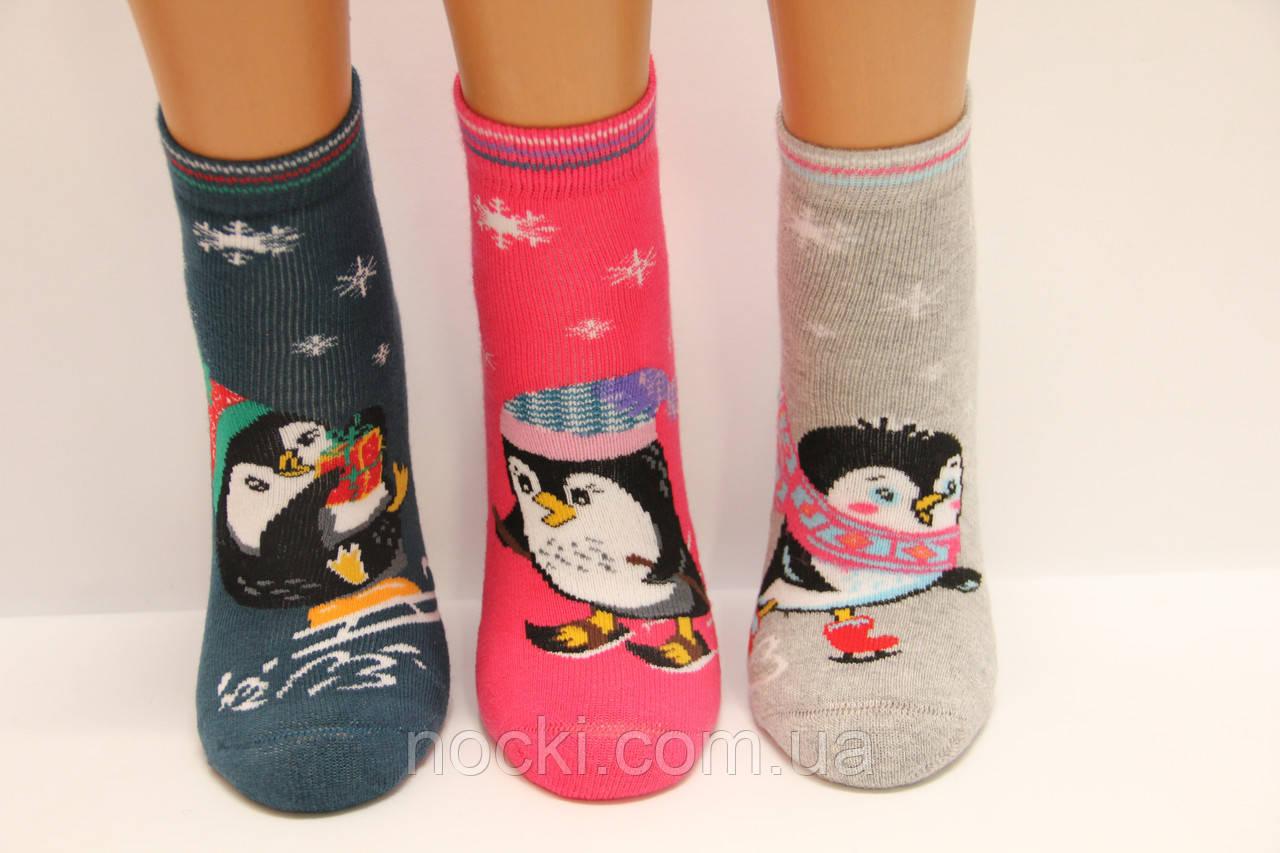 Махровые детские носки с тормозами EKMEN