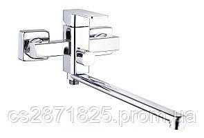 Смеситель LEB7- G-Lauf- NEB7- A123 (005 NEW) Ванна с европерекл, кер/картФ35, ЭА