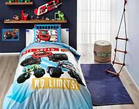 Детское/подростковое постельное белье TAC Disney Blaze Ранфорс