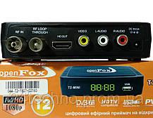 Open Fox T2 mini SMART цифровой эфирный DVB-T2 ресивер, фото 2