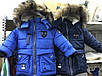 "Зимняя куртка - парка  ""Фэшн""  с натуральной опушкой, р-ры на 3 - 7 лет, фото 10"