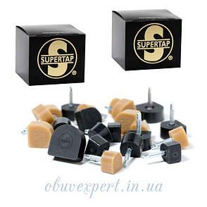 Набойка полиуретановая Supertap штырь 2,45 мм, т. 6,5 мм, р 8 мм, черный США, фото 2