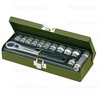 Набор головок с трещоткой из 13 позиций от 5,5 до 14 мм PROXXON №23 602