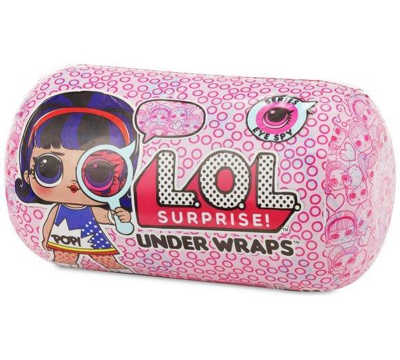 Капсула лол шпионы decoder декодер кукла lol L.O.L. 16 см