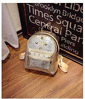 Рюкзак золотой, фото 1