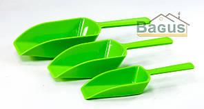 Набор пластиковых совков для сыпучих (3 шт./наб.) Empire (EM-8692)