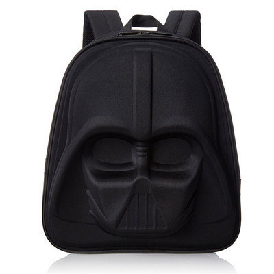 Черный объемный рюкзак в стиле Star Wars
