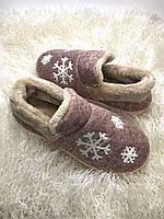 Бурки женские с мехом снежинка Dago, фото 1