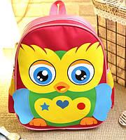 Розовый рюкзак Птичка для девочки, фото 1