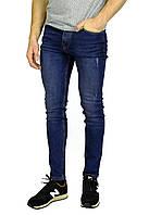 Синие мужские джинсы зауженные TRIPTONIC DENIM, фото 1