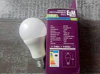 Лампа світлодіодна B65 PA10S 14W E27 4000K, 18-0181