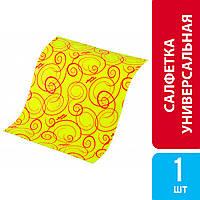 Салфетка универсальная вискозная All Purpose Cloth, Vileda, 1 шт.