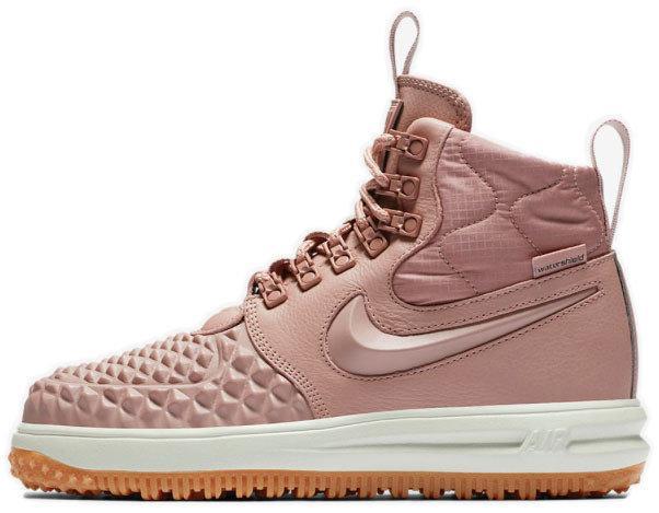 86b9345e Женские кроссовки Nike Lunar Force 1 Duckboot '17 Premium Particle Pink (в  стиле Найк