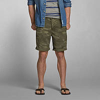 Камуфляжные шорты  Abercrombie&Fitch