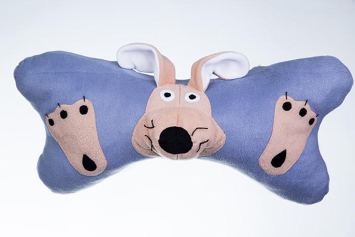 Декоративная подушка Жадная собачка