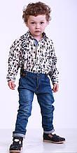 Детская рубашка для мальчика 42STILYAGA р. 116 см Белая