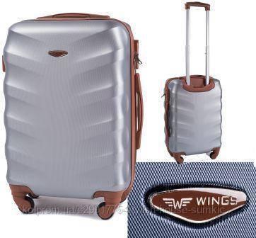 Чемодан Wings Exclusive 403 (средний) серебро