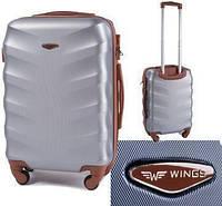 Чемодан Wings Exclusive 403 (средний) серебро, фото 1