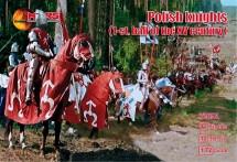 POLISH KNIGHTS .1-ST. HALF OF THE XV CENTURY. 1/72 MARS 72051