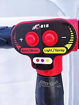 Детский Самокат Скутер SMART FL - Музыка Дым Подсветка - Красный, фото 3
