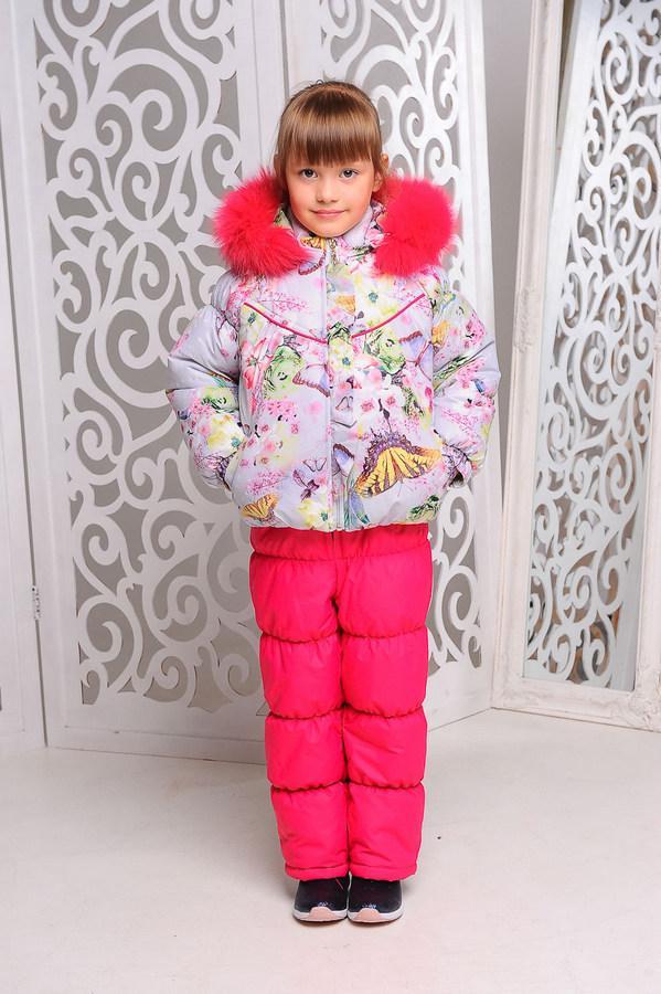Комплект-комбинезон зимний для девочки