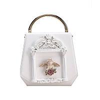 Белая сумка с ангелком, фото 1