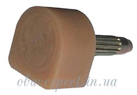 Набойка полиуретановая Supertap штырь 3,1 мм, т. 6,5 мм, р 12 мм, бежевый  США, фото 2