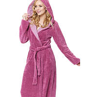 Теплый домашний халат Dobranocka 9314