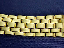 Браслет на часы метал 20 Gold