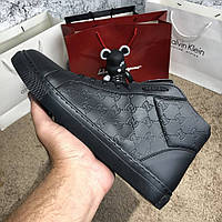 Gucci Signature High Top Black