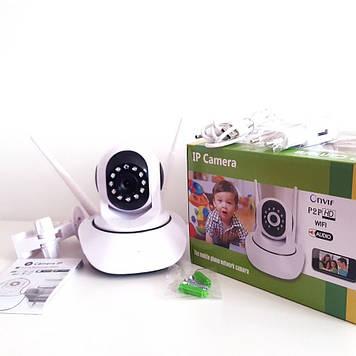 HD качество. Поворотная IP Camera  WIFI IP P2P  Onvif  HD WiFi  (видеоняня)