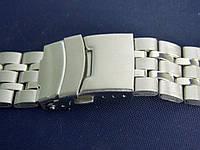 Браслет на часы метал 20 Silver