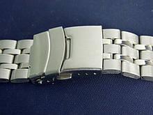 Браслет на годинник метал 20 Silver