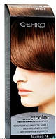 Стойкая крем-краска для волос C:EHKO C:COLOR тон 74 Мускат