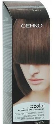 Стойкая крем-краска для волос C:EHKO C:COLOR тон 77 Лесной орех